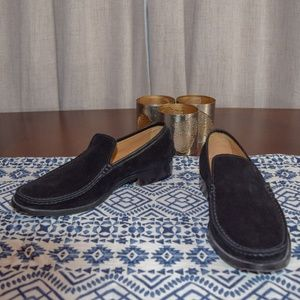 EUC Tod's suede slip-ons!